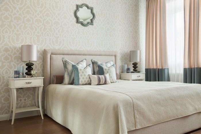 как связать кровать и окно в спальне