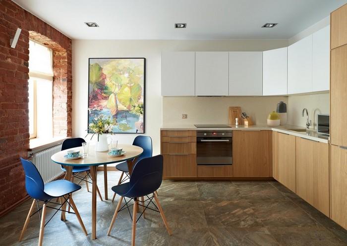 как украсить пустой угол на кухне