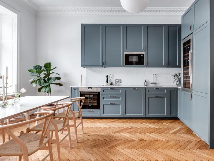 чем украсить пустой угол на кухне