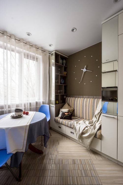 диванчик на кухне