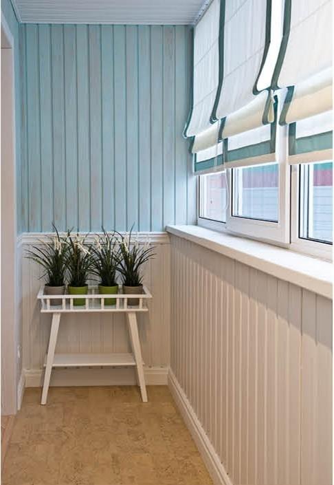 в какой цвет покрасить балкон и лоджию