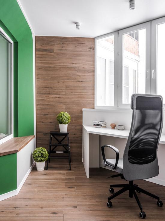 отделка балкона или лоджии изнутри: какой цвет выбрать