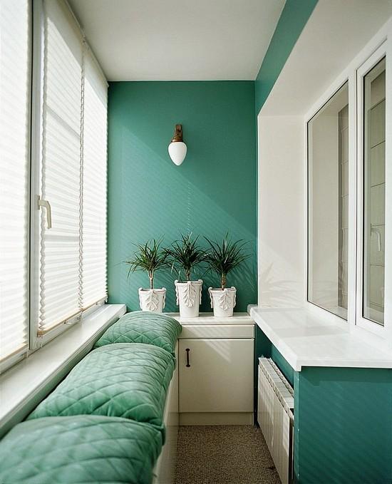 цвет балкона