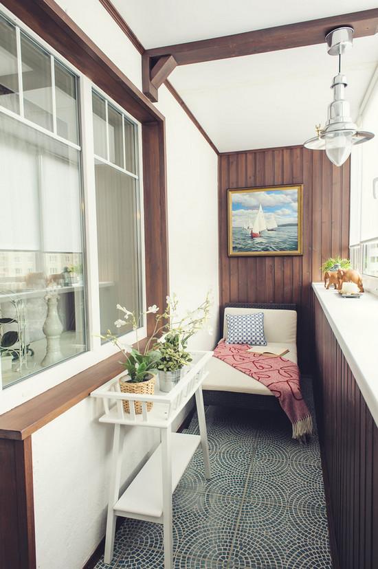 цвет лоджии/балкона изнутри
