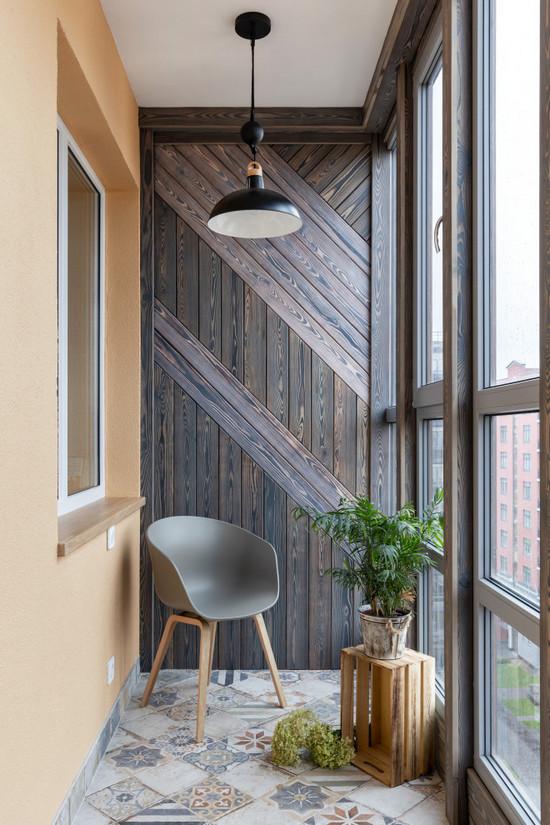 в какой цвет покрасить стены балкона или лоджии