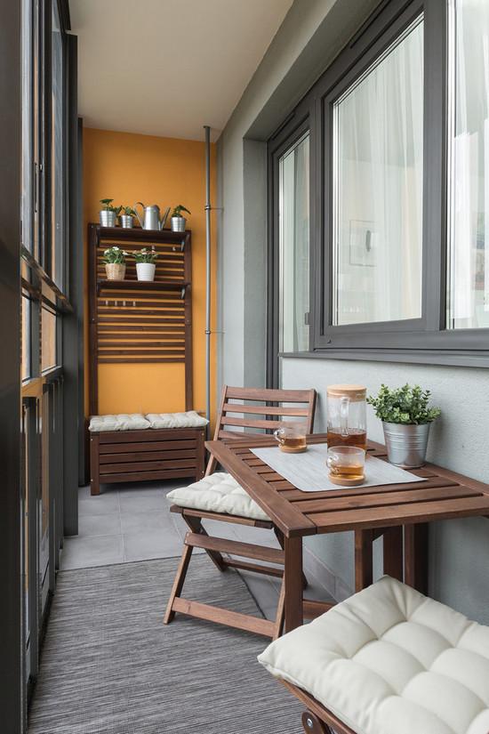 какой цвет для балкона выбрать