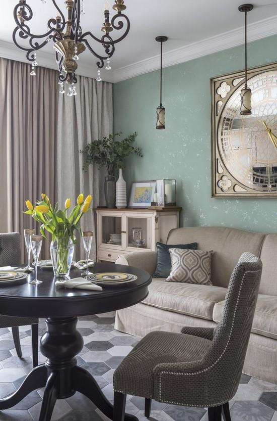 какую мебель поставить в гостиную без стенки