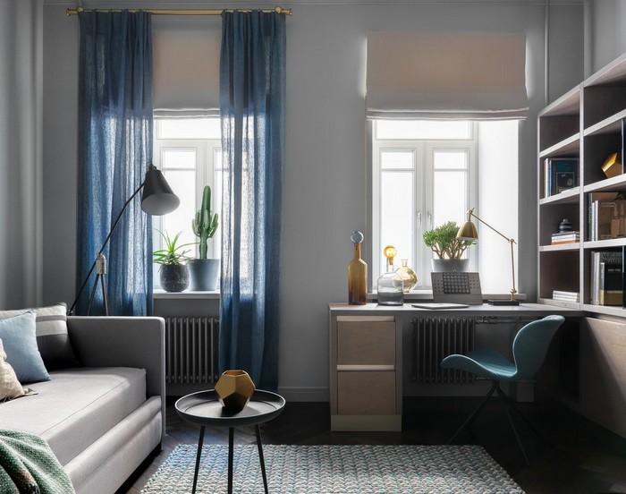 два окна с простенком: что поставить и как оформить