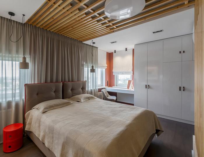 баффели в интерьере спальни