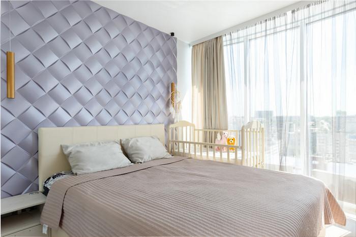 как поставить детскую кроватку в спальне родителей