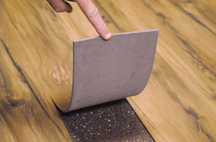 плюсы и минусы кварц-виниловой плитки