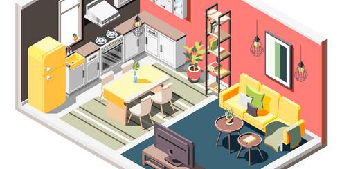 дизайнерские идеи для маленьких квартир